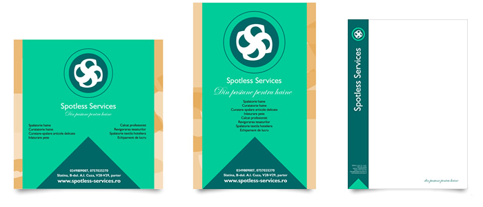 Brand: Design Poster and letterhead London